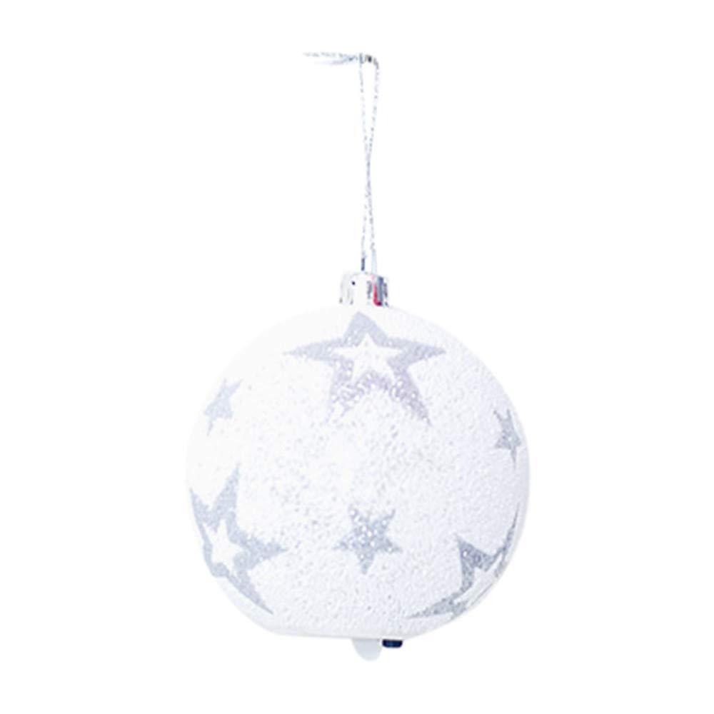 Christmas Tree Decorations Clearance,Jchen(TM) Merry Christmas LED Ball Light Chrismas Xmas Tree Hanging Ornament Garden Party Decor (C)