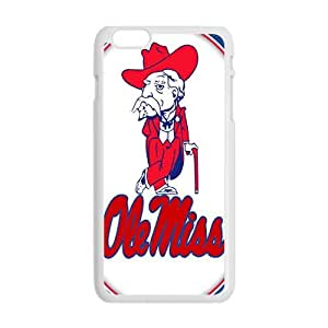 ole miss Phone Case for Iphone 6 Plus by mcsharks