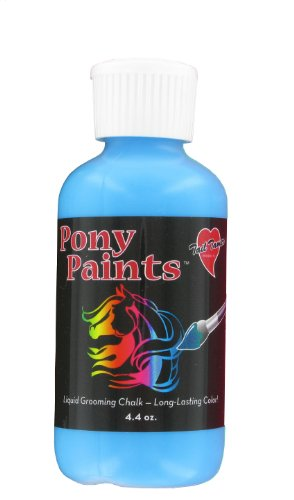 [Tail Tamers PPNTS-TURQ Pony Paints Grooming Chalk for Horses, Turquoise] (Body Paint Costumes For Halloween)