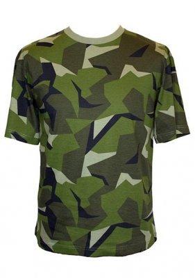 669cee9f Miltec Woodland Camouflage Half Sleeve T-Shirt M90 Swedish Army-Medium 48/50