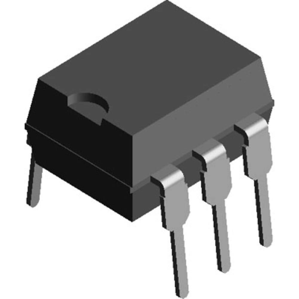 Optoisolator; Analog; 6-Pin DIP; Transistor; Phototransistor; 1.25 V (Typ.), Pack of 100
