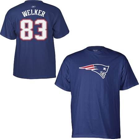 Wes Welker New England Patriots NFL Player T-Shirt Camisa ...