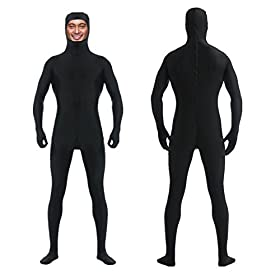 - 414aQo6Aw1L - DreamHigh DH Men's Women's Lycra Spandex Full Body Costume Zentai Suit-Open Face