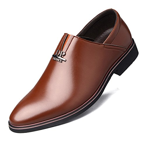 Business Occasionnels Jeunesse Coréenne Robe Brown Chaussures Angleterre Quotidien Hommes Linyi Décontractées UqPxwS1t