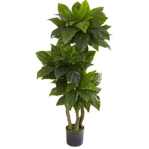 Nearly Natural 5391 Bird Nest UV Resistant Tree, 5-Feet, Green by Nearly Natural
