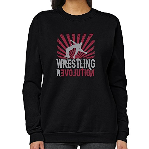 Teeburon Wrestling REVOLUTION Women Sweatshirt by Teeburon