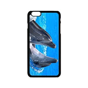 Lovely Dolphine Hight Quality Plastic Case for Iphone 6