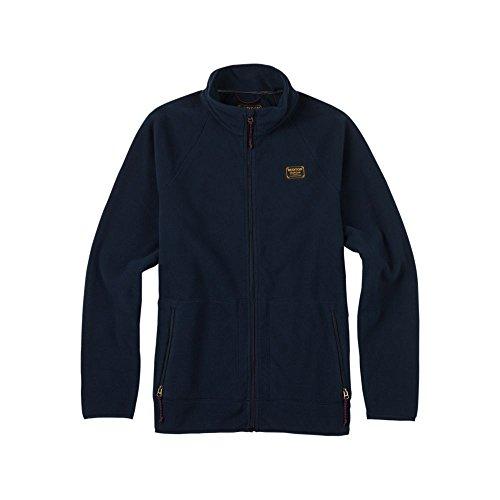 Burton Men's Ember Full-Zip Fleece, Eclipse, Medium