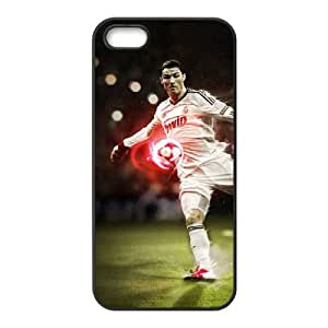 Sports ronaldo kick iPhone 4 4s Cell Phone Case Black 91INA91424167