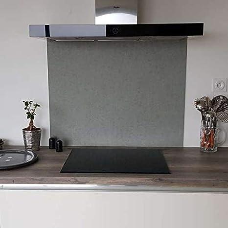 Aparador Urban Concrete de aluminio compuesto, 25 cm de alto x 50 ...