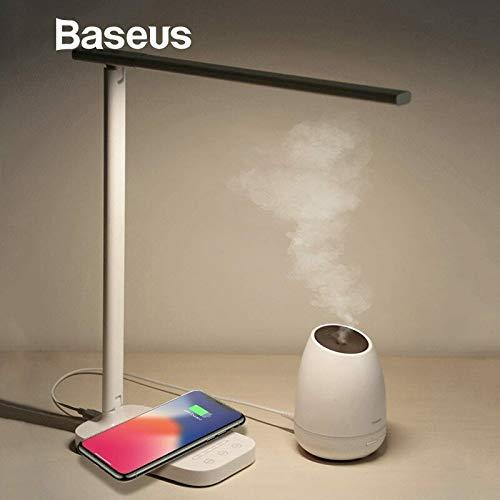 Lámpara de escritorio LED Luz Qi Cargador inalámbrico ...
