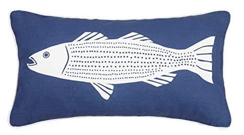 Kate Nelligan Pillow Blue [並行輸入品] B07R96WC3N