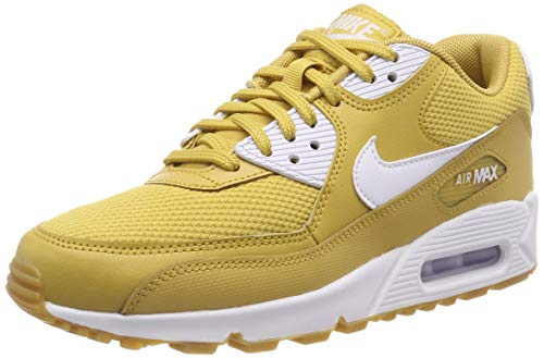 Gold Multicolore de 90 Brown WMNS Wheat 001 Max White Femme Chaussures White NIKE Light Gum Air Fitness xqvfFn8