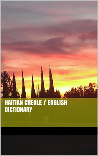 Buy now English - Haitian Creole Dictionary