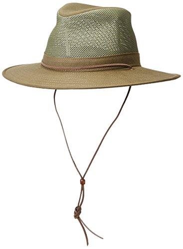 Henschel Aussie Cotton Mesh Breezer Balaclavas, Olive, ()