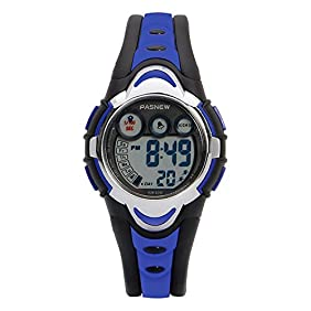Hiwatch Waterproof Led Sports Watches For Girls Boys With Alarm Clcok,Stopwatch,Calendar With Gift Box