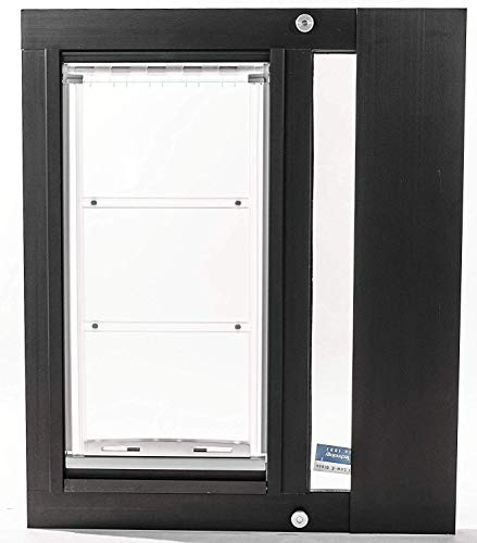 Endura Flap Thermo Sash 3e Pet Door for Sash Windows – 3 Sizes S, M, L in Width Ranges from 25 – 43