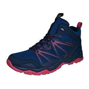 Merrell Capra Rise Mid Waterproof Trail Hiking Boots - AW16 - 12.5 - Black