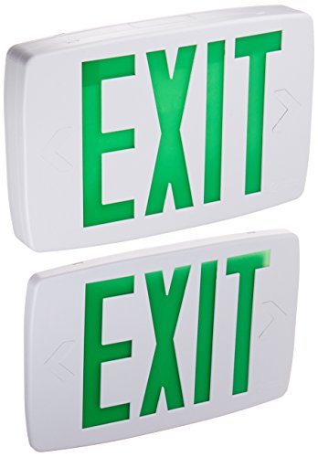 Lithonia Lighting LQM S W 3 G 120277 M6 Quantum Thermoplastic LED Emergency Exit Sign