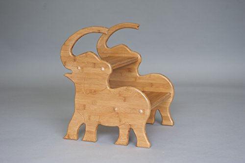 Bamboo Elephant Stool; Elephant Nursery by Pop-Pop's Children's Furniture Company