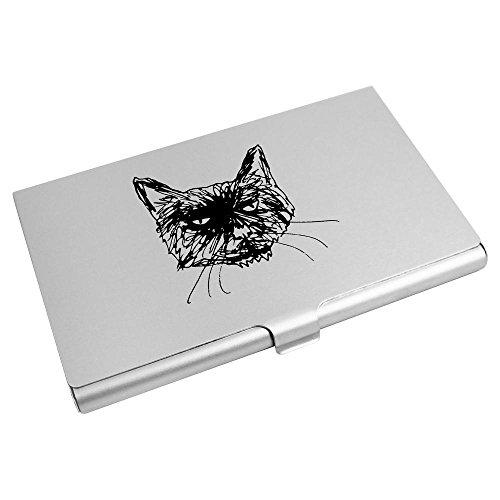 Card Business Holder 'Grumpy Azeeda Wallet CH00012313 Credit Card Cat' U1ZSSg