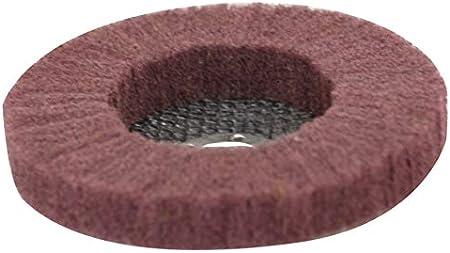 Disque non tisses nylon de polissage de inox 125x22,2mm grain de 240