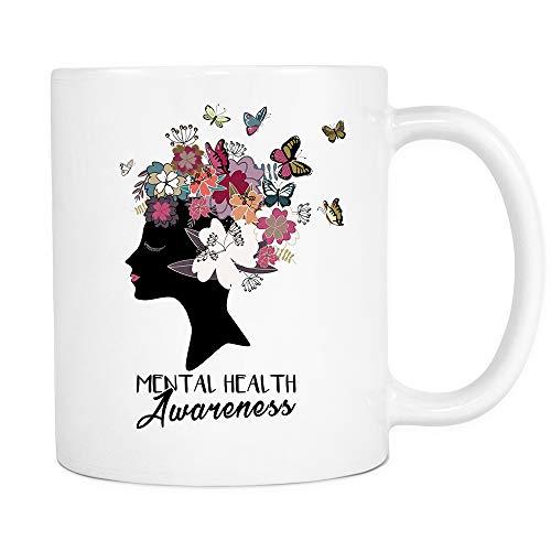 Mental Health Awareness Coffee Tea Mug 11oz Ceramic by Dabbing Boy