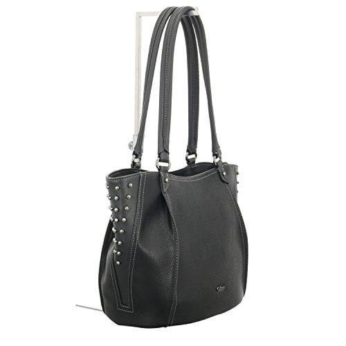Bag 25 Gabor cm Shopper Tonia Schwarz 1vEE6qw0n