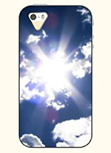 OOFIT Phone Case Design with Shining Sun for Apple iPhone 5 5s 5g