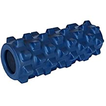 Oliasports Exercise Foam Roller Extra Firm Foam Roller with Trigger Points, Blue