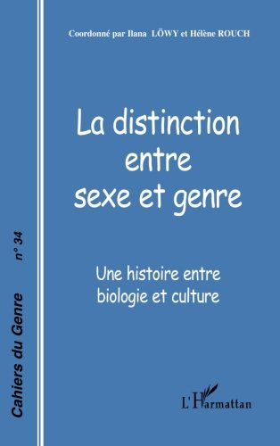 Telecharger Les Cahiers Du Genre 34 La Distinction Entre