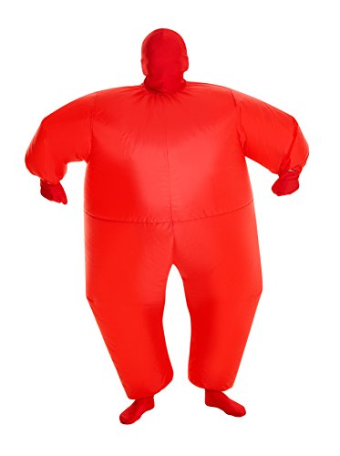 MorphCostumes Red MegaMorph Kids Inflatable Blow Up Costume - One Size