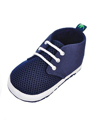 Stepping Stones Baby B.U.M. Baby Boys' Sneaker Booties - Navy, 3-6 Months