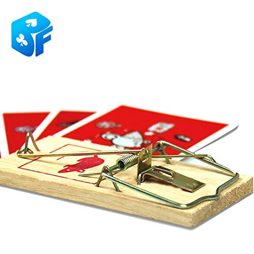 Alpeft Card in Mousetrap Magic Tricks Magic Props