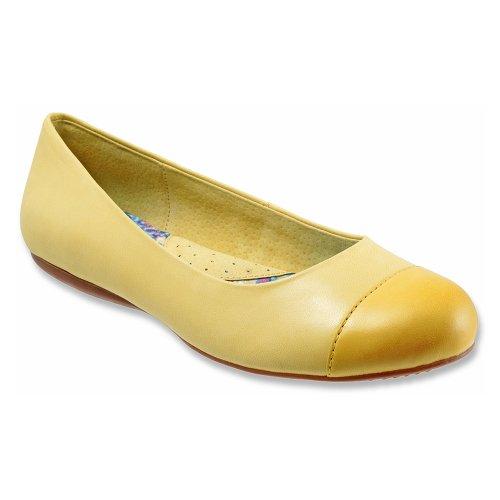 Softwalk Damen Napa Ballet Flat Gelb