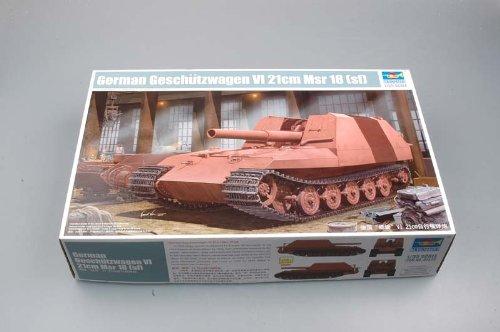 Trumpeter 01540 Modellbausatz Geschützwagen Tiger Grille21 210mm Morta B0032HKN6Y Panzer Moderate Kosten | Ausgezeichnetes Preis