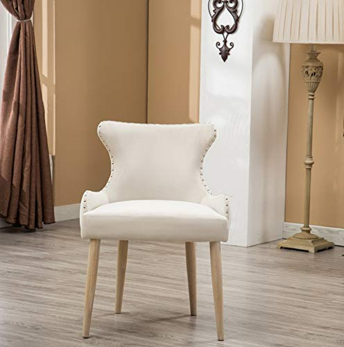 - Hebel Viking Fabric Tufted Button Back Barrel Accent Chair with | Model CCNTCHR - 92 |