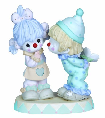 Precious Moments, It's Funny How Much I Love You, Bisque Porcelain Figurine, 123011 ()