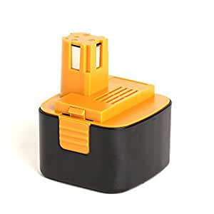 HeShunChangToolBattery 12V, 3000mAh, Ni-MH, Replacement Power Tools Battery for Panasonic EY9001, EY9101, EY9108, EY9200, EY9200B, EY9201, EY9201B