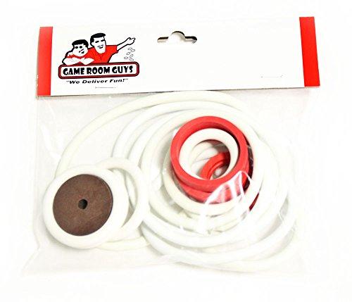 Game Room Guys Joker Poker Pinball White Rubber Ring Kit by Game Room Guys