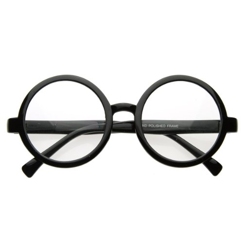Vintage Inspired Eyewear Round Circle Clear Lens Glasses Eyeglasses -