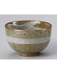 Kobiki Brush 5 7inch Set Of 5 Ramen Bowls Beige Ceramic Made In Japan
