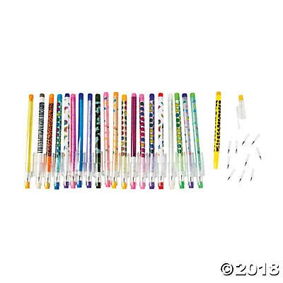 (Stacking Point Pencil Assortment (50 pieces) -)