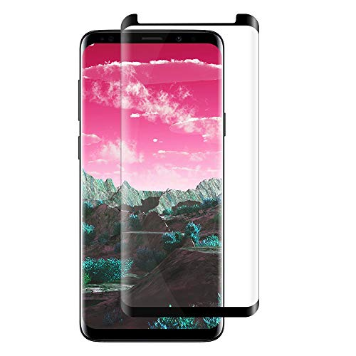 [2 Pack] S9Plus Screen Protector, [Anti-Scratch] [High Definition] [Bubble Free] [Anti-Fingerprint] S9 Plus Tempered Glass Screen Protector Compatible with Samsung Galaxy S9 Plus