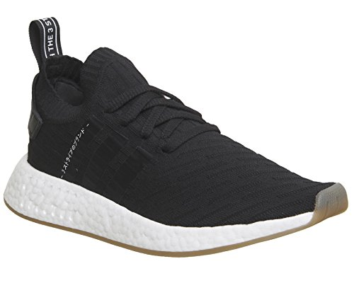 adidas NMD_r2 PK, Sneaker Uomo Vari Colori (Negbas/Negbas/Negbas)