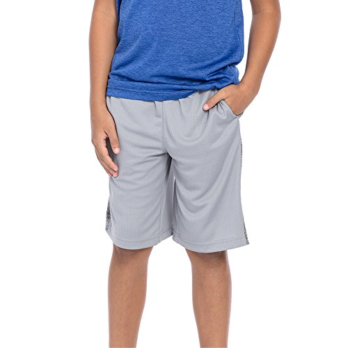 WWE Authentic Wear WWE Tapout Court Kings Youth Sleet Grey Shorts Purple/Blue/Black Medium by WWE Authentic Wear