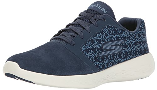 Blue Leather Athletic Shoes (Skechers Performance Women's Go Run 600-15060 Running Shoe)