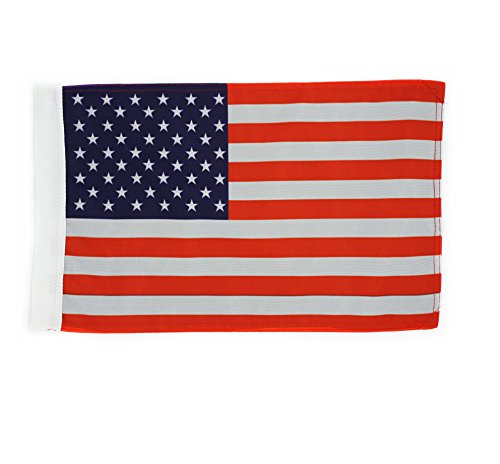 Hot Rides Motorcycle Flag USA 6x9 Or 10x15 Inch (10