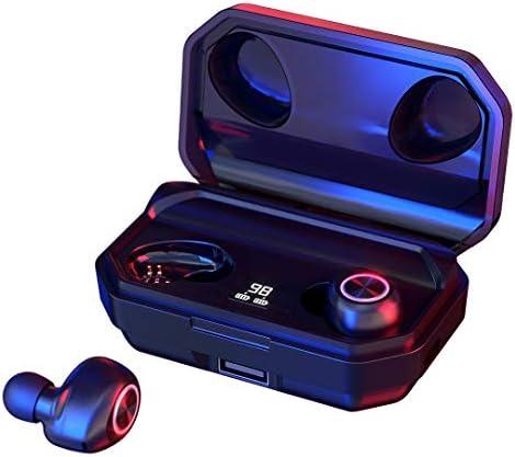 144 Stunden In-Ear Bluetooth Kopfhörer, Ohrhörer Kabellos CVC Noise Cancelling Earbuds Headset, Wireless Kopfhörer Sport Ohrhörer mit IPX6 Wasserdicht/HD-Stereo Deep Bass/Portable Ladecase