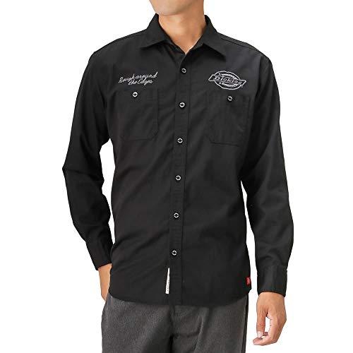 道路リングレットテメリティDickies ディッキーズ ワークシャツ 長袖 カジュアルシャツ 大きいサイズ TCワークLSシャツ 8470-8400D メンズ